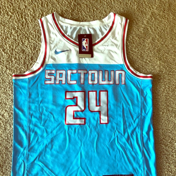 low priced b758f fe63a Sacramento Kings Buddy Hield Swingman Jersey BNWT NWT